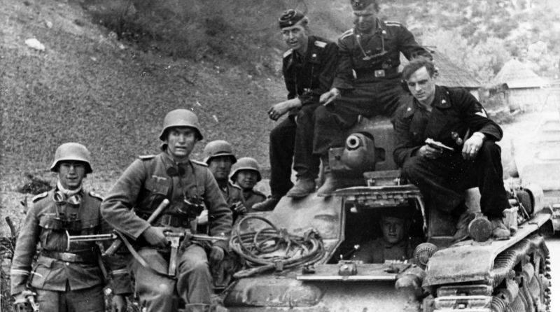 Deutscher Blitzkrieg in Jugoslawien