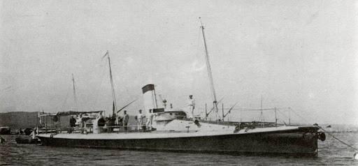Немецие корабли в составе российского флота