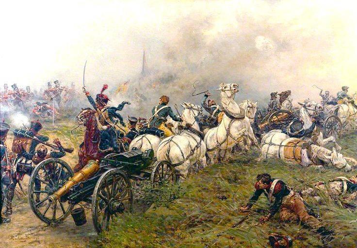 Артиллерия Великой армии Наполеона: орудия и боеприпасы