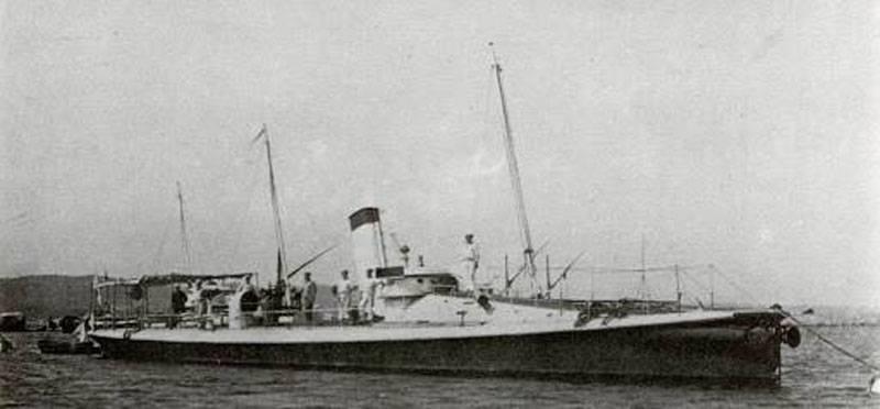 Немецкие корабли в составе российского флота