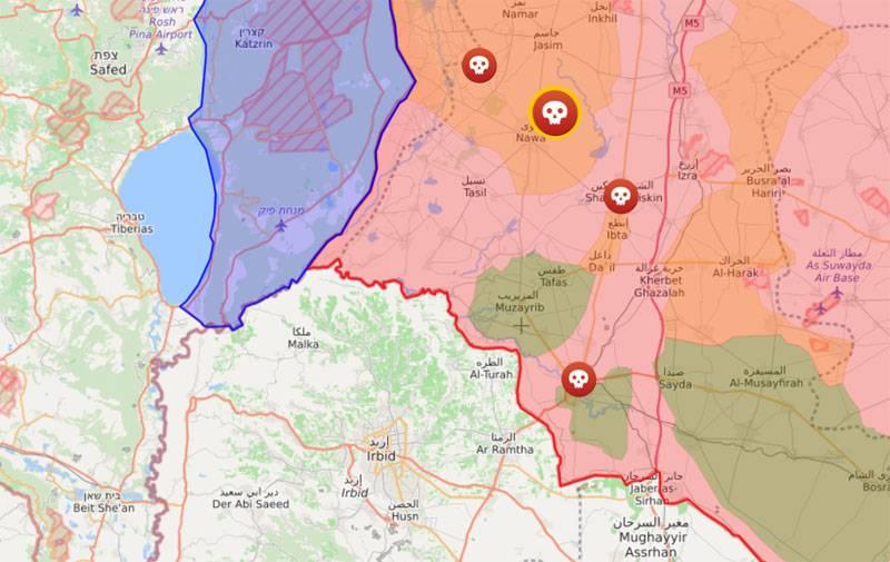 Militante greifen Positionen der syrischen Armee im Süden des Landes in verschiedene Richtungen an