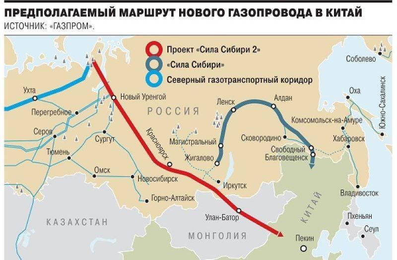A Gazprom lançará outro riacho - Soyuz Vostok