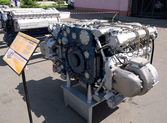 Plateforme Armata et son moteur