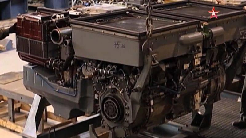 Платформа «Армата» и ее двигатель