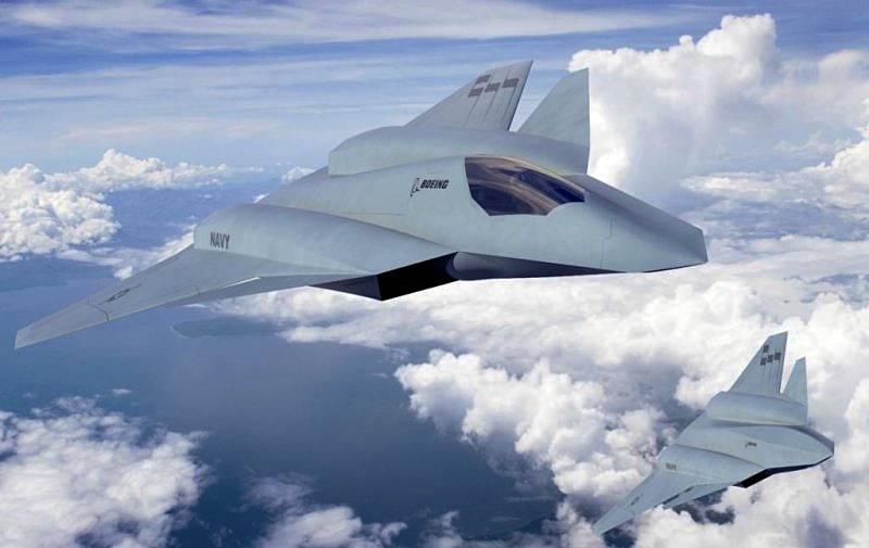 USAFの新しい戦闘機のコンセプト:NGAD