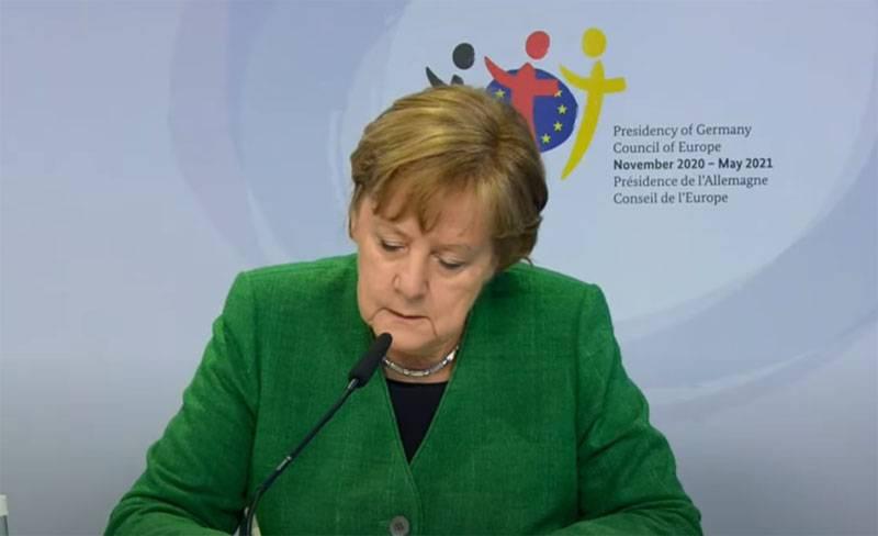 Меркель: Газ в трубопроводе «СП-2» не будет хуже газа, идущего через Украину и Турцию