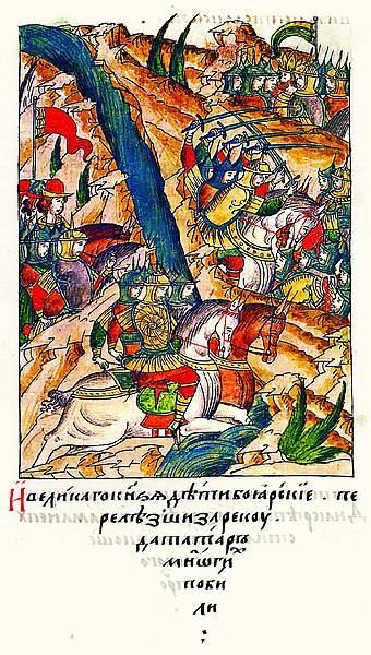 Битва на Волге. Борьба Москвы и Казани