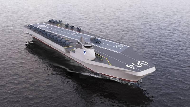 En el contexto de otros: el prometedor portaaviones francés PANG y sus capacidades.