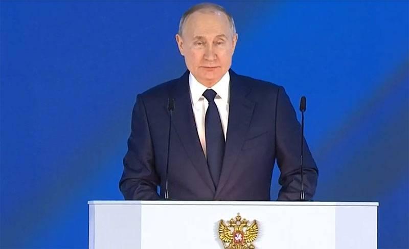Mensaje del presidente: salvar al pueblo de Rusia es nuestra máxima prioridad nacional