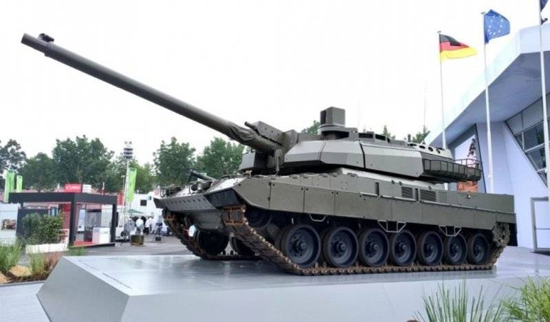 "A new generation gun ASCALON or how the Europeans want to bypass the ""Armata"""