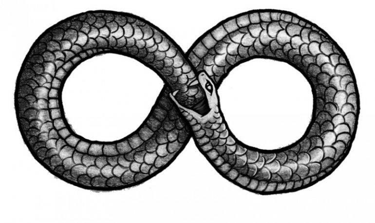 宣传-蛇咬自己的尾巴