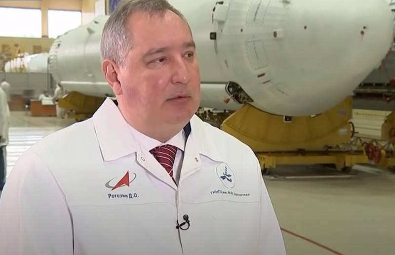 Rogosin bestritt Berichte über Verhandlungen mit SpaceX über die Lieferung von Astronauten in die Umlaufbahn