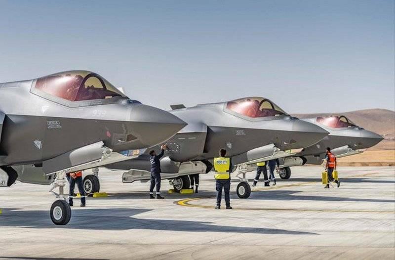 L'armée de l'air israélienne s'est réapprovisionnée en trois nouveaux chasseurs F-35I Adir
