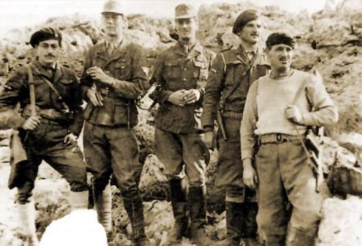 「パルチザンミート」またはクレタ島からのドイツのクライペ将軍誘拐