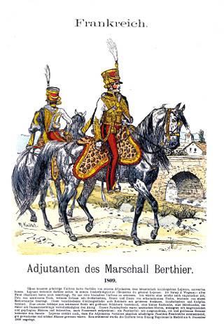 Adjutants of Marshal Berthier