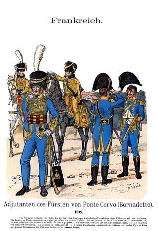 Marshal Bernadotte's adjutants