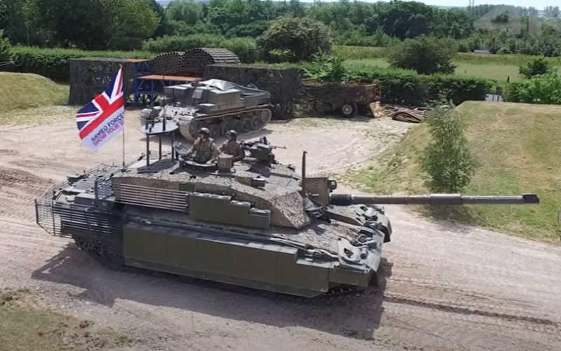 Полковник британской армии в отставке: Танковые части армии Британии смогут продержаться в реальном бою всего несколько дней