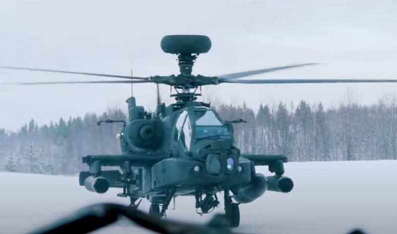 «Для готовности к новым вызовам»: экипажи ударных вертолётов Британии тренируют в 300 км от границ России