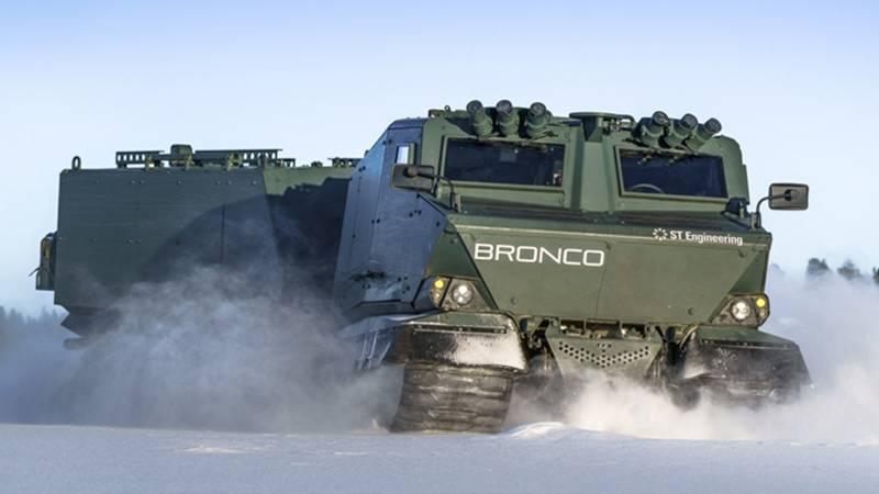 Транспортер для Арктики. Пентагон продолжает программу CATV