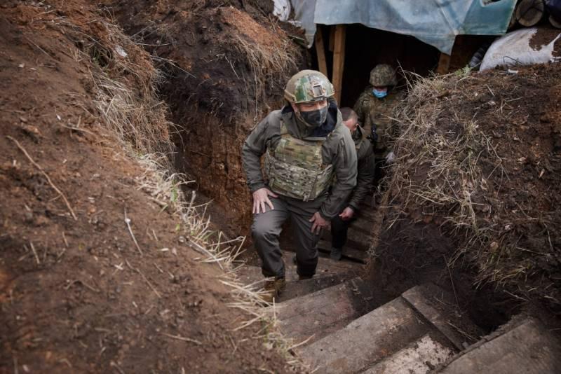 Пресс-секретарь Зеленского: Украина не планирует наступать на неподконтрольные территории