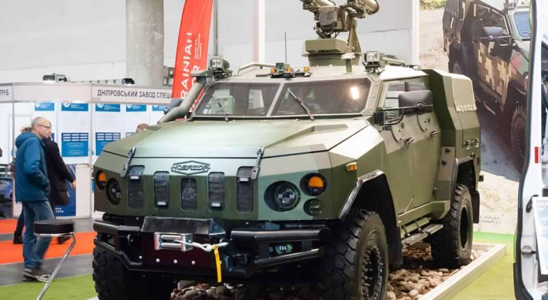 Самоходный противотанковый ракетный комплекс ВПК Украины Амулет