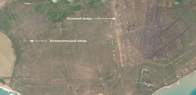 Немецкий журнал «обнаружил» на спутниковых снимках Крыма российский военный лагерь