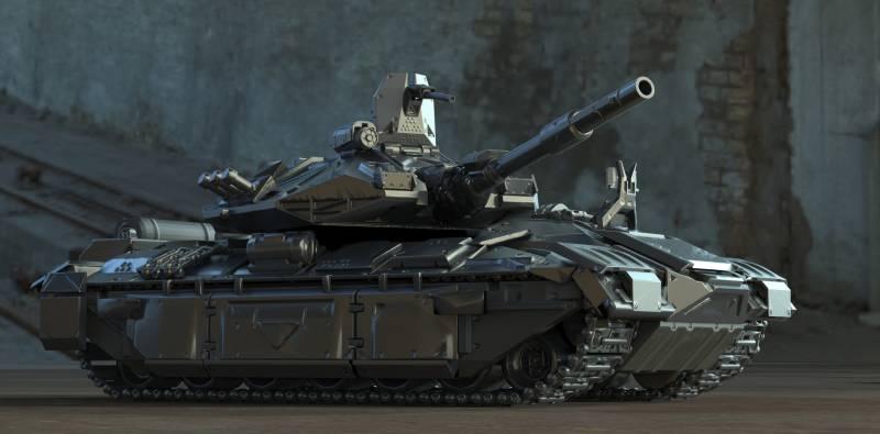 Каким может быть танк нового поколения