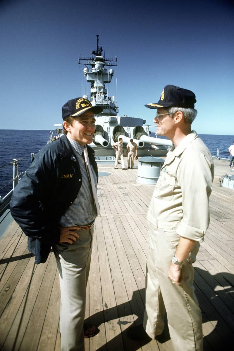 О «Морской стратегии» США 80-х от её создателей: интервью с Джоном Леманом