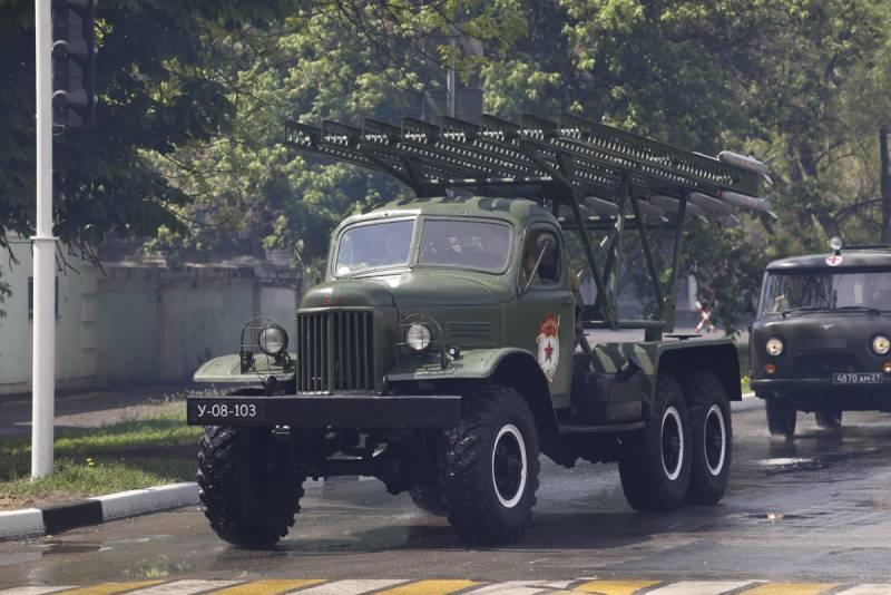 БМ-13 «Катюша» после Победы: до сих пор в строю