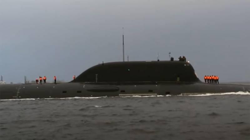 Из вертикальных пусковых установок и торпедного аппарата: сообщается о залповом ракетном пуске АПЛ «Казань»