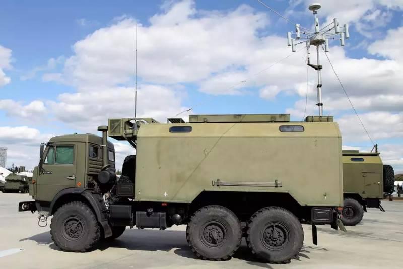 Комплексы РЭБ Поле-21 в российской армии