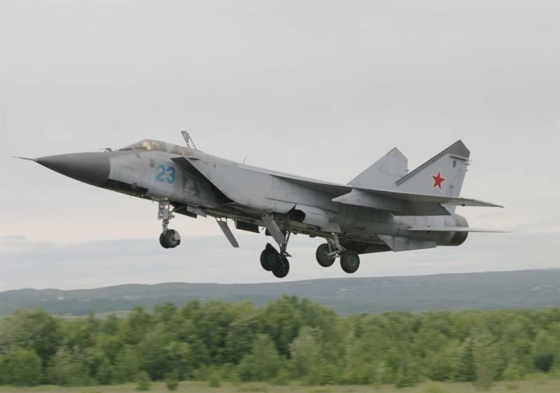 В китайском Sina: Россия зациклилась на своём старом перехватчике МиГ-31