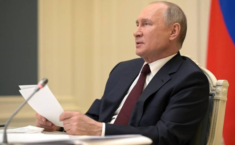 Владимир Путин ответил на предложение президента Украины Зеленского «встретиться на Донбассе»
