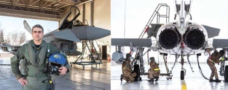 ВВС Италии с мая собираются патрулировать небо Прибалтики с использованием истребителей F-35