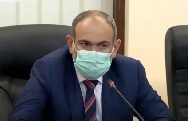 Пашинян объявил о своей отставке с поста премьер-министра Армении
