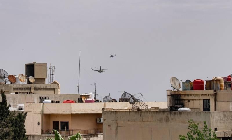Российская военная полиция сумела войти в Эль-Камышлы, занятый курдскими отрядами