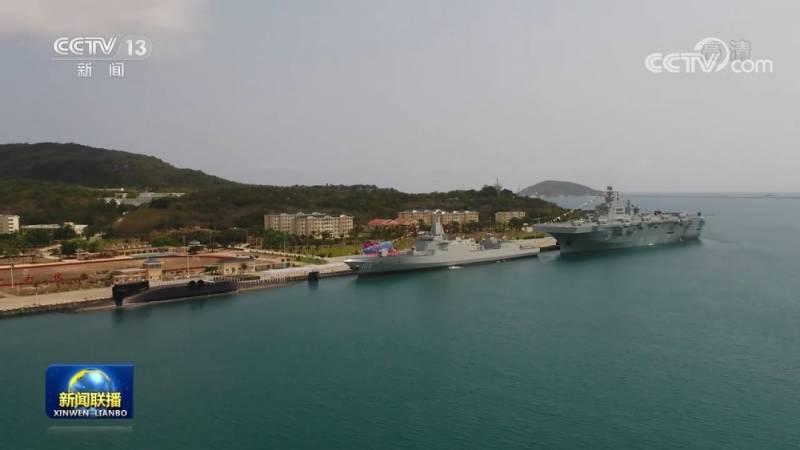Строительство УДК «Тип 075» для военно-морских сил Китая