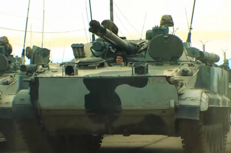 Мотострелки Кантемировской танковой дивизии сменят БМП-2 на БМП-3