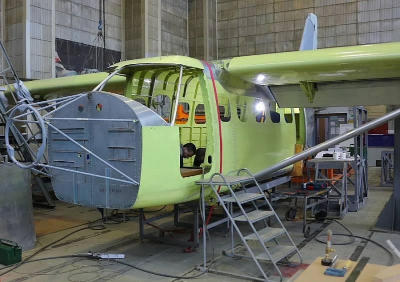 Названы сроки начала испытаний разработанного на смену Ан-2 самолёта ЛМС-901 «Байкал»