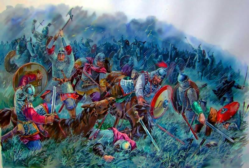 Погибнет слава, сопутница русского оружия, если мы теперь постыдно уступим римлянам