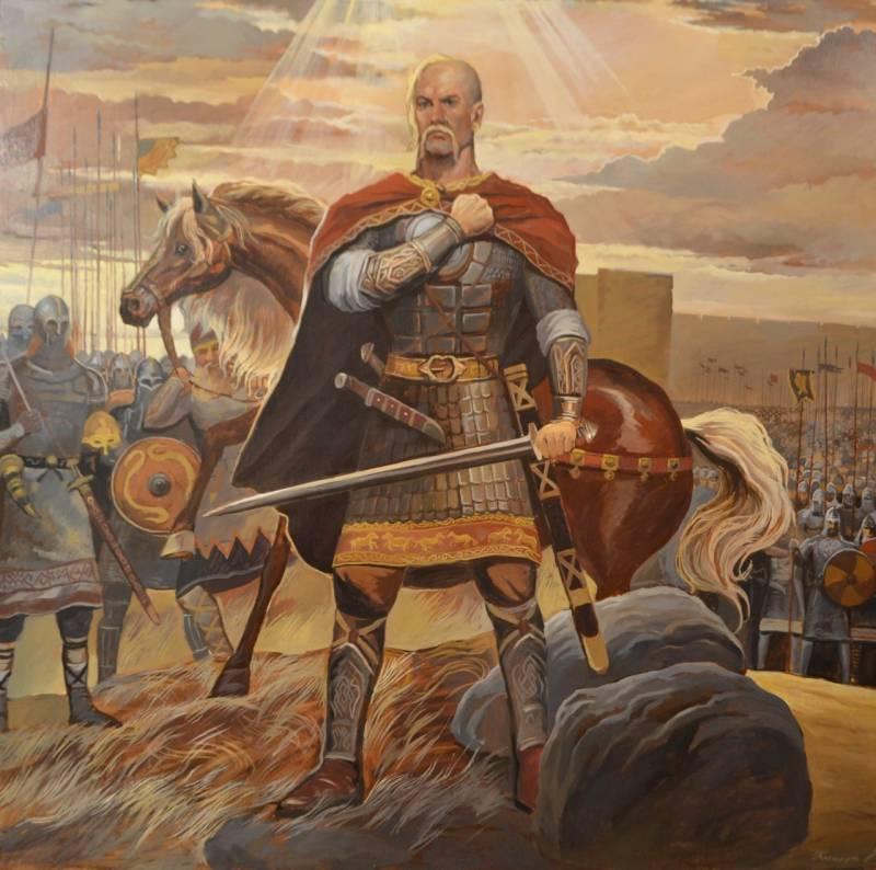 «Погибнет слава, сопутница русского оружия, если мы теперь постыдно уступим римлянам»