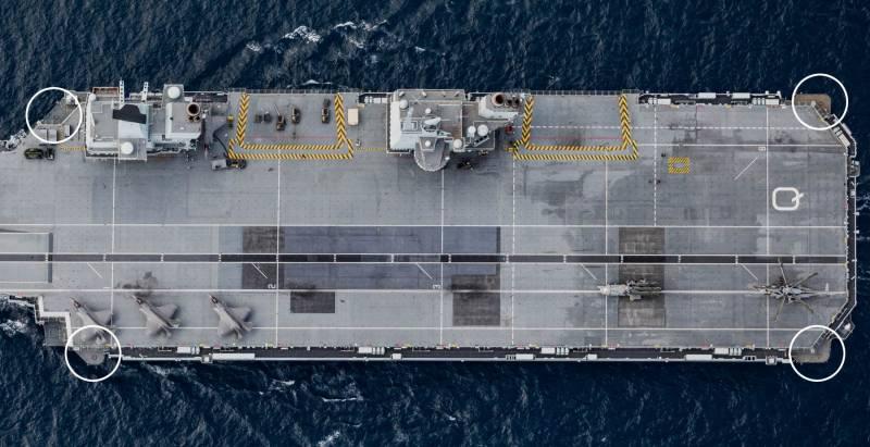 «Пулемёты и огонь из амбразур»: Британский флот описал защиту своих авианосцев