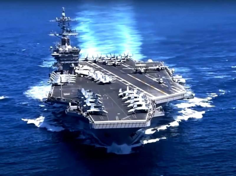 Американский обозреватель: ВМС США в случае конфликта в открытом океане пустят на дно китайские авианосцы