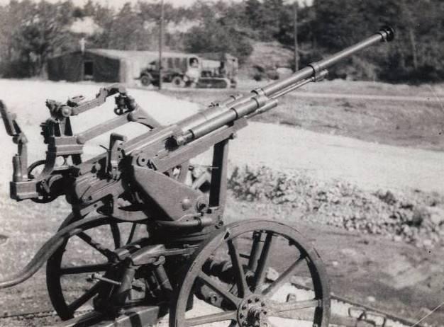 Artillería antiaérea japonesa de pequeño calibre
