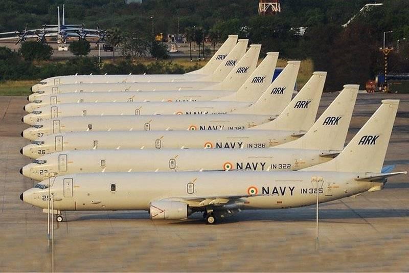США одобрили продажу Индии шести базовых патрульных самолётов P-8I Poseidon