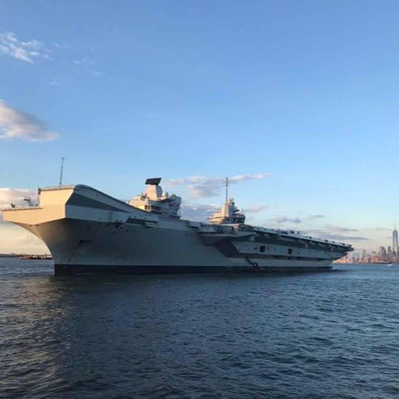 미국 제독 : 영국 해군, 항공 모함 공격 그룹을 동쪽으로 보내 베이징에 명확한 신호를 보냅니다.