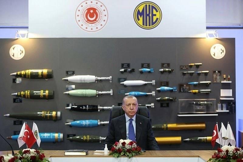 La Turquie ouvre une nouvelle usine de production d'explosifs