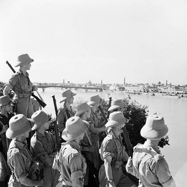 Blitzkrieg iraquí del ejército británico