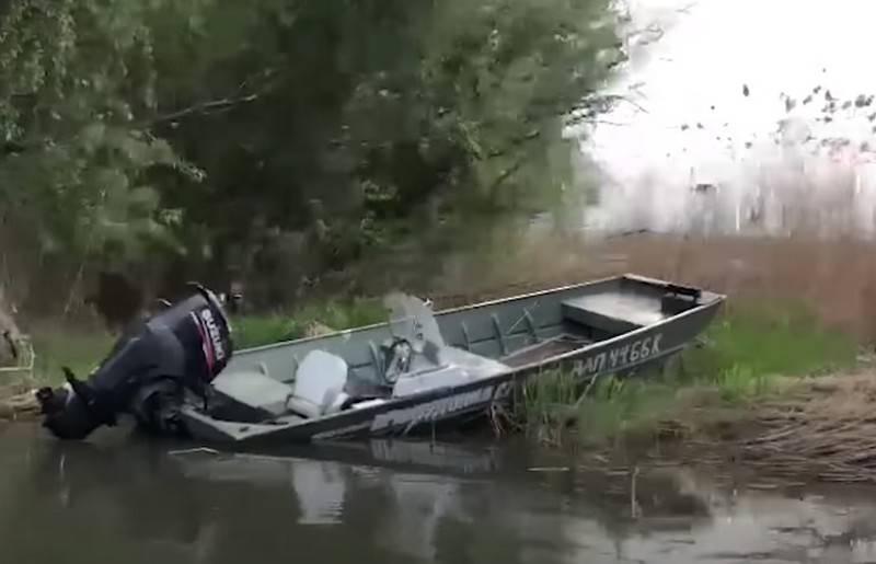 В Одесской области перевернулась моторная лодка с украинскими пограничниками