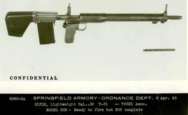 Fusil automático T31. El último desarrollo de J.K. Garanda
